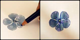 nice hammered flower prints you can try it with colorful leaves too they look great