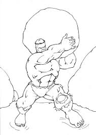 Hulk coloring page from hulk category. Free Printable Hulk Coloring Pages For Kids