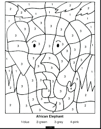 Free Multiplication Facts Coloring Sheets Math Facts Coloring Pages