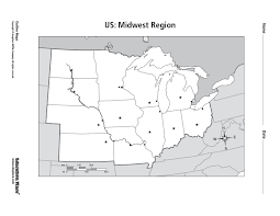 US: Midwest Region Worksheet for 5th - 12th Grade | Lesson Planet