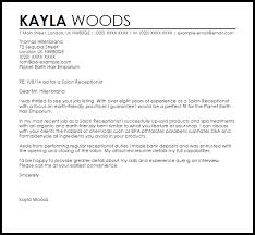 Letter For Salon Resume Ideas Of Cover Letter Examples For Beauty ...