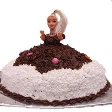 2 Kg Barbie Dol Cake Dpsainiflorist