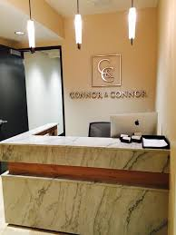 office reception office reception area. connor and law offices reception desk office area