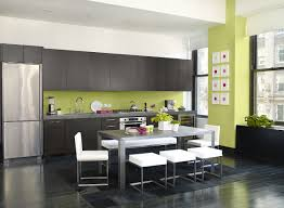 contemporary kitchen colors. Modern Kitchen Color Combinations Architecture Vibrant Green Paint Colors Add Punch To This Contemporary Feng Shui Table Lamps L