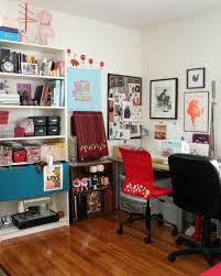 eclectic crafts room. Brilliant Eclectic Eclectic Cottage Craft Room  Love The Organization From This With Eclectic Crafts Room