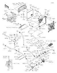 2014 kawasaki teryx le krf800cef radiator parts best oem radiator parts diagram for 2014 teryx le krf800cef motorcycles