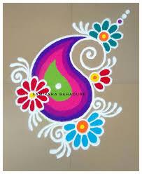 Easy Cartoon Rangoli Designs Image Result For Handmade Diwali Decoration Rangoli