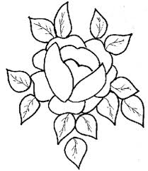 Small Picture Coloring Pages of Rose Flower Coloring Pages