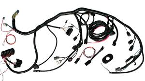 1961 1966 ford f series truck parts toms bronco parts wiring harness for 5 0l or 5 8l efi fuel injection conversion loomed
