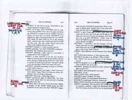 Light Cues In Script Lighting Mrs Welks Drama Page