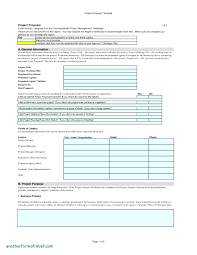 Free Proposal Template Template Proposal Template In Word 20