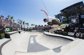 ben raybourn keeping skateboarding close to its roots at dew tour bringing old school tricks