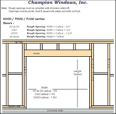 garage door opening size standard double garage door opening size garage designs glamorous rough opening door