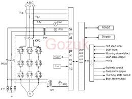 soft start motor starter wiring diagram wiring diagram blog medium voltage mv soft starter