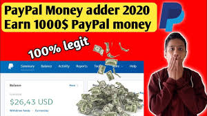 PayPal Hack - Paypal Adder Money - free paypal money adder 2020 paypal  hacks money 🤑💸💵💴💶💰💳 - YouTube