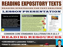 What Is Expository Text Reading Expository Texts Lesson Presentation