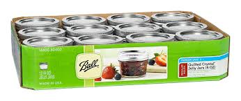 Amazon.com: Ball Mason 4oz Quilted Jelly Jars with Lids and Bands ... & Amazon.com: Ball Mason 4oz Quilted Jelly Jars with Lids and Bands, Set of  12: Food Savers: Kitchen & Dining Adamdwight.com