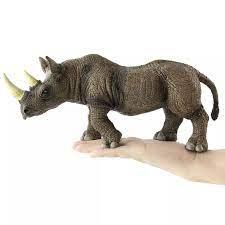 30 سنتيمتر حديقة الحيوان البرية العملاقة وحيد القرن نموذج أرقام اللعب  البلاستيكية كيان وحيد القرن تزيين جمع لعب للأطفال|