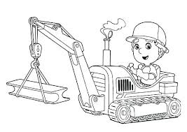 Tractor Coloring Page Tractor Color Pages Tractor Color Pages
