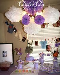 Lavender Baby Shower Decorations Cheylyn Chic Loving Lavender Baby Shower