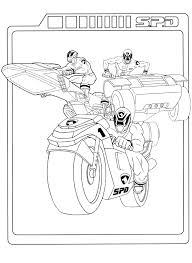 Power Rangers Kleurplaat