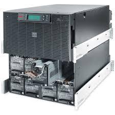 apc smart ups rt 20kva rm 230v surt20krmxli critical power supplies apc surt20krmxli battery tray exposed fr