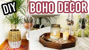 Boho Room Decor Diy Bohemian Room Decor Youtube