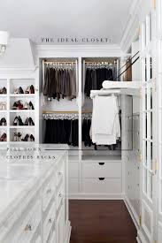 the ideal closet definitely has this feature the pull out rack for