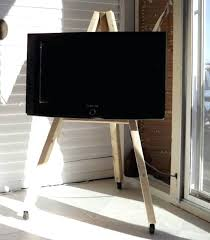 tv stand with casters. Stand Ideas For Your Weekend Home Project Intended Tv On Wheels Decor With Casters