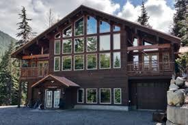 cabin decor lodge sled: lodge retreat snoqualmie pass area easton cabin