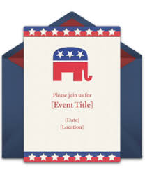 Political Fundraising Invitations Free Political Online Invitations Punchbowl