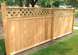 charming ideas types of wood fences for backyard wood fence post caps peiranos fences knowing fence