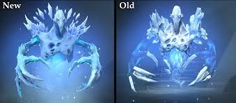 dota 2 wiki on twitter new ancient apparition model vs old model