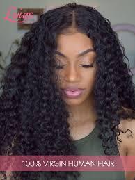 Hairstyles For Black Women 76 Inspiration Brazilian Virgin Hair 24A Grade Human Hair Wigs For Black Women Deep