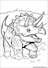 Tekeningen Te Schilderen Kleur Dinosaur Print Design 062
