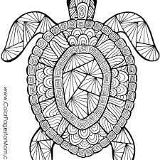Animal Mandala Coloring Pages Owl Animal Mandala Coloring Page For