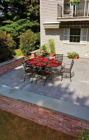 paver and wall design ideas concrete