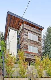 Modern Wood House This New House Was Built With A Mix Of Reclaimed And Sustainable