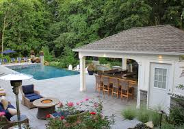 Custom Carpentry Cabanas Pool Houses Long Island