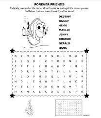 Finding Nemo Coloring Pages Free Coloring Games Movie