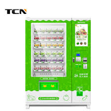 Hot Food Vending Machine For Sale New China Tcn 48 Hot Sell Automatic Fresh Fruit Vegetables Frozen Food