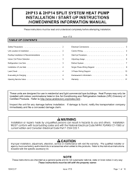 Ducane Hvac 2hp13 Users Manual Manualzz Com