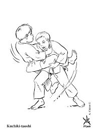 Coloriage Judo Les Beaux Dessins De Sport Imprimer Et Colorier
