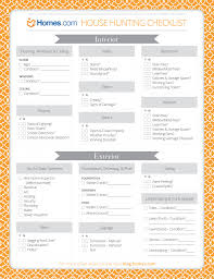 printable house hunting checklist meant for buying a home but it printable house hunting checklist meant for buying a home but it could be used