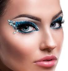 glamorous and dramatic this xotic eyes adhesive eye makeup kit is fast and easy includes eye tattoos adhesive fake eye lasheatching glitter