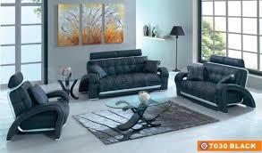 Living Room Set Deals Black Leather 3 Pcs Living Room Set Sofa Loveseat And Armchair