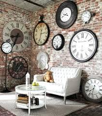 target extra large wall clocks giant clock digital separate numbers number modern