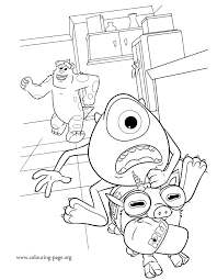 Monsters University Coloring Pages – Birthday Printable