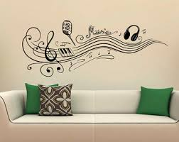 Small Picture Music wall decal Etsy