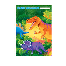 dinosaur party gift bags dinosaur party supplies